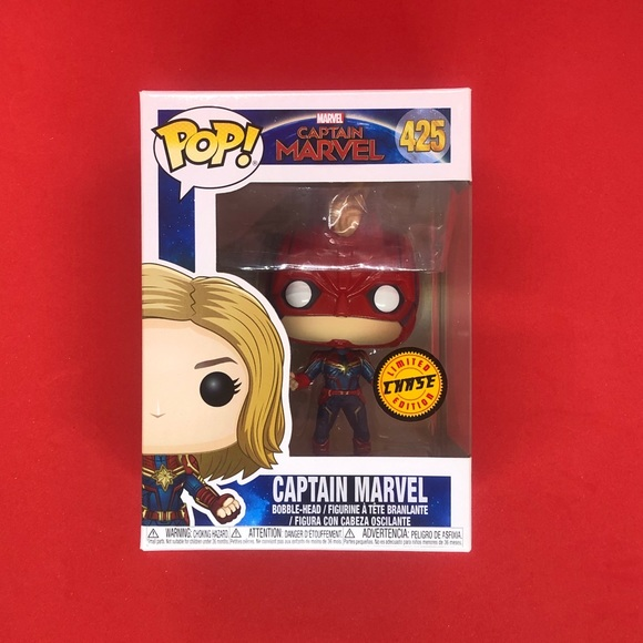 Funko Pop! Marvel Captain Marvel Masked #425 CHASE